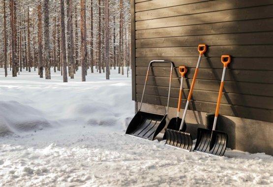 Špičkové náradie na upratovanie snehu