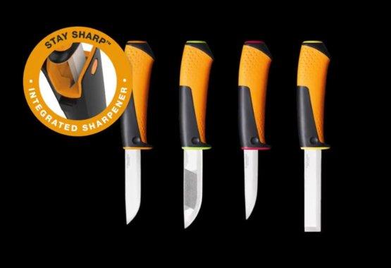 Nový rad univerzálnych nožov s integrovaným ostričom