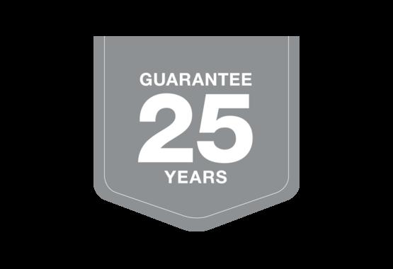 Garantovaná záručná lehota 25 rokov