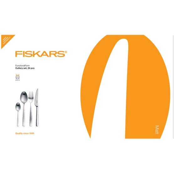 Súprava príborov Functional Form™, 24 ks, matné vyhotovenie