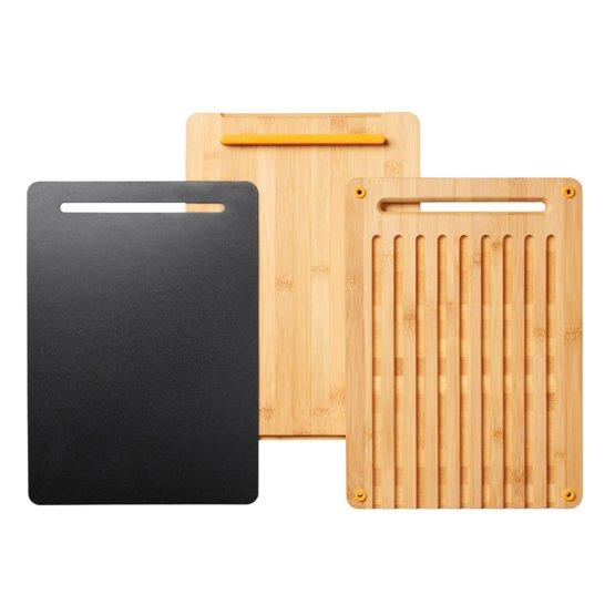 Súprava bambusových lopárikov na krájanie Functional Form