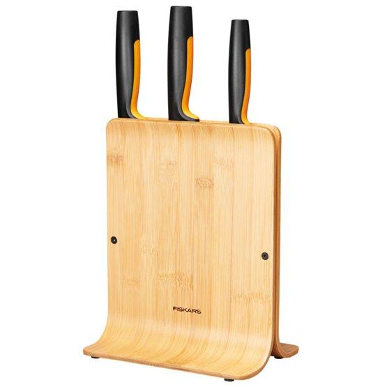Bambusový blok s tromi nožmi Functional Form
