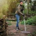 Ľahké hrable záhradné, širšie