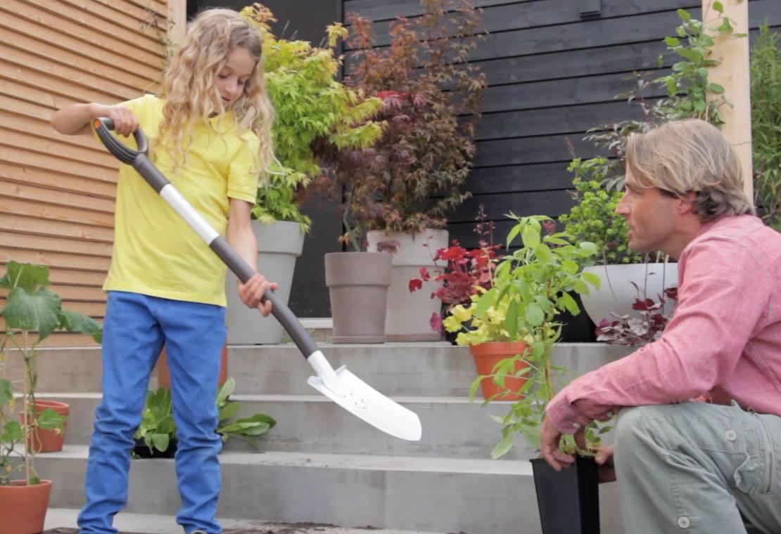 Hrable Light™ ľahké, záhradné