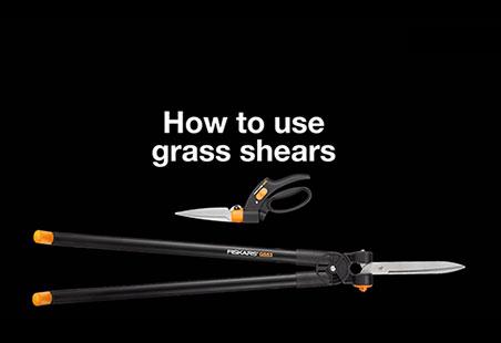 Nožnice na trávu Servo-System™ GS42